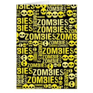 Carte Mosaïque de zombis
