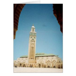 Carte mosquée de Casablanca