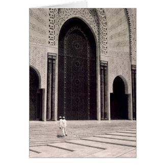 Carte mosquée du Maroc