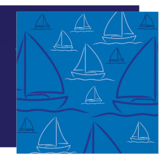Carte Motif de yacht