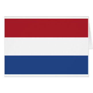 Carte Motif patriotique de Netherland Hollande