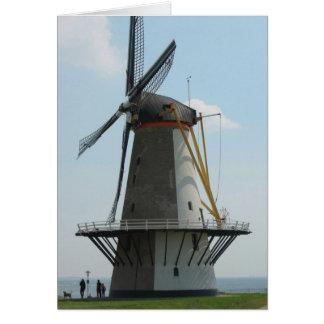 Carte Moulin à vent néerlandais en Hollande