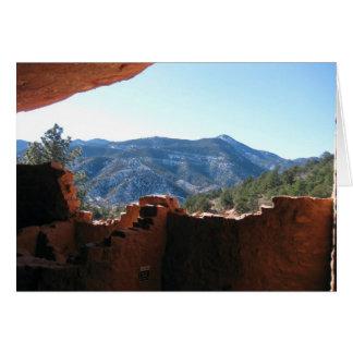 Carte Mountain View des logements de falaise