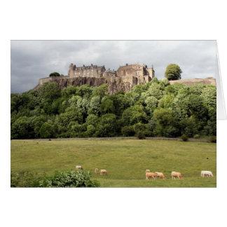 Carte moutons de château de Stirling