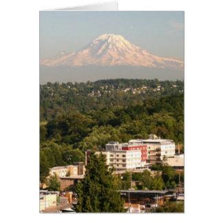 Carte Mt. Rainer à Seattle