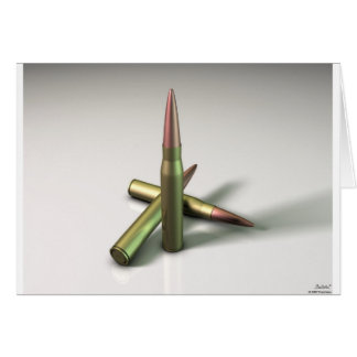 Carte Munitions de balle