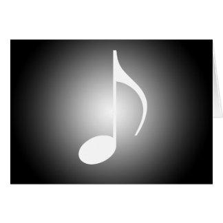 Carte Musiciens noirs et blancs