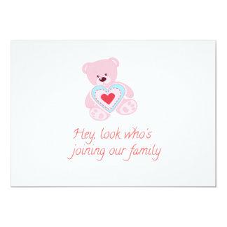 Carte Naissance de bébé