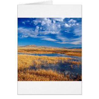 Carte Nature inférieure de lac klamath de ciel