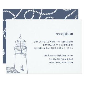 Carte nautique de réception de phare de la balise
