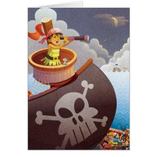 Carte Navigation avec des pirates