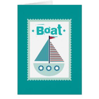 Carte Navigation de canotage de voilier de bateau