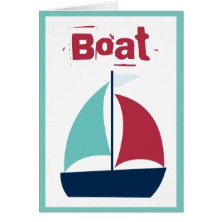Carte Navigation de voilier de canotage de bateau