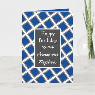 Carte Nephew, un joyeux anniversaire personnalisé