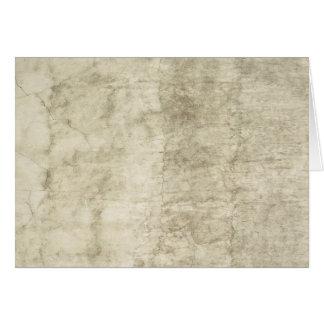 Carte Neutre de papier antique de blanc de modèle de