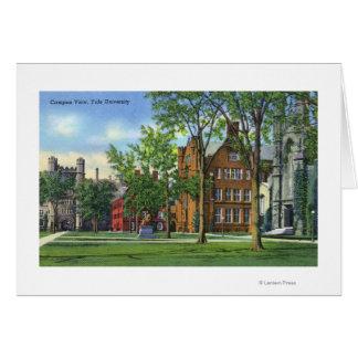 Carte New Haven, vue de campus universitaire de CTYale