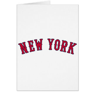 Carte New York contre des rivaux de Boston
