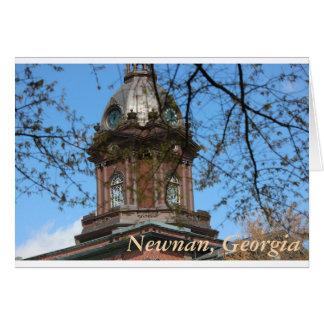 Carte Newnan, chèque-cadeau de la Géorgie