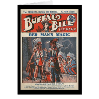 Carte No. original 439 de bibliothèque de Buffalo Bill