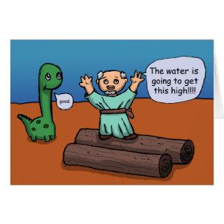 Carte Noé et l'inondation
