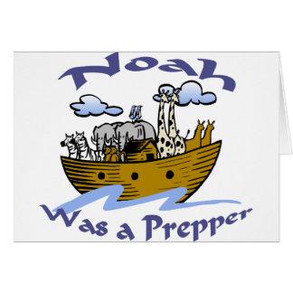 Carte Noé était un Prepper