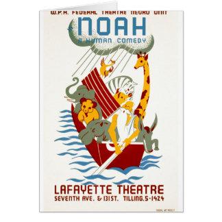 Carte Noé une comédie humaine