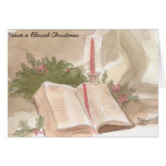 Carte Noël béni