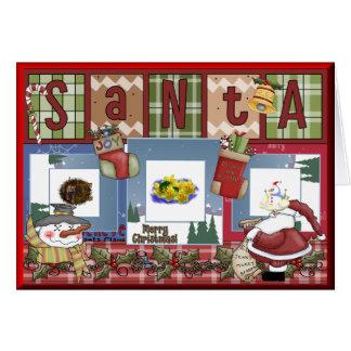 Carte Noël d'album