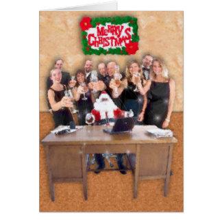 Carte Noël de collègue