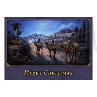 Carte Noël de trois sages