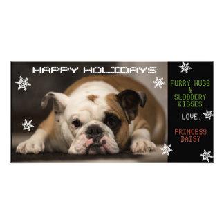 Carte Noël de votre chien