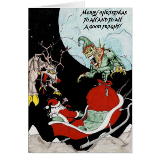 Carte Noël drôle