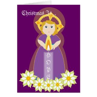Carte Noël est Espoir-Personnaliser