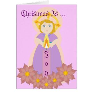 Carte Noël est Joie-Personnaliser