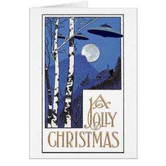 Carte Noël gai