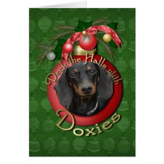 Carte Noël - plate-forme les halls - Doxies - Winston