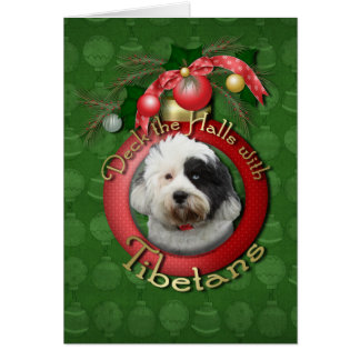 Carte Noël - plate-forme les halls - Tibétains