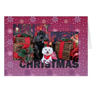 Carte Noël - Tinkerbell - maltais