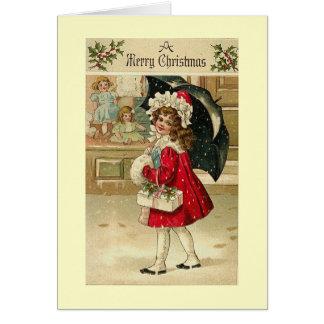 Carte Noël vintage