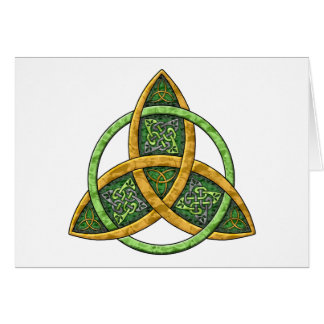 Carte Noeud celtique de trinité