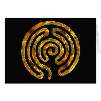 Carte Noir de l'OR | de labyrinthe
