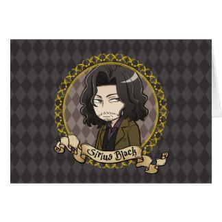 Carte Noir de Sirius d'Anime