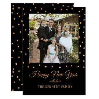 Carte Noir et bonne année d'or