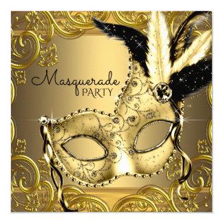 Carte Noir et partie de mascarade d'or