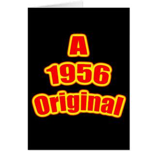 Carte Noir original du rouge 1956