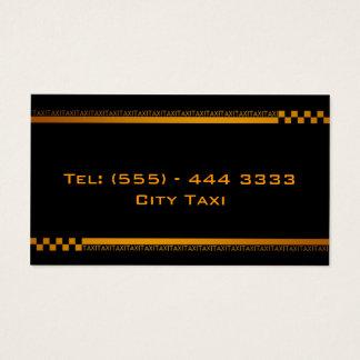 Carte noire simple d'entreprise de services de