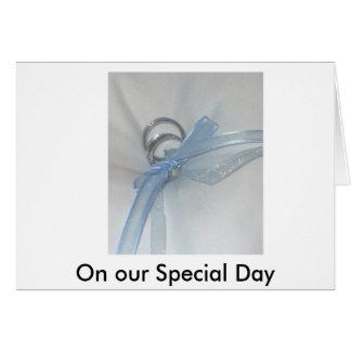 Carte , Notre jour spécial