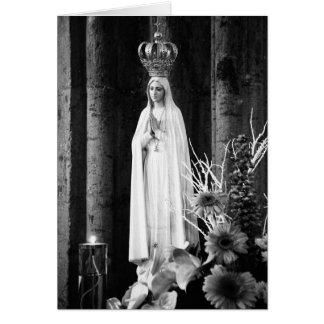 Carte Notre Madame de Fatima