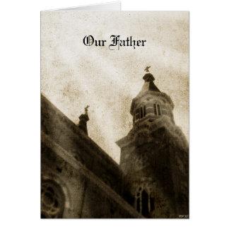 Carte Notre père