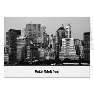 Carte Nous nous déplaçons à New York